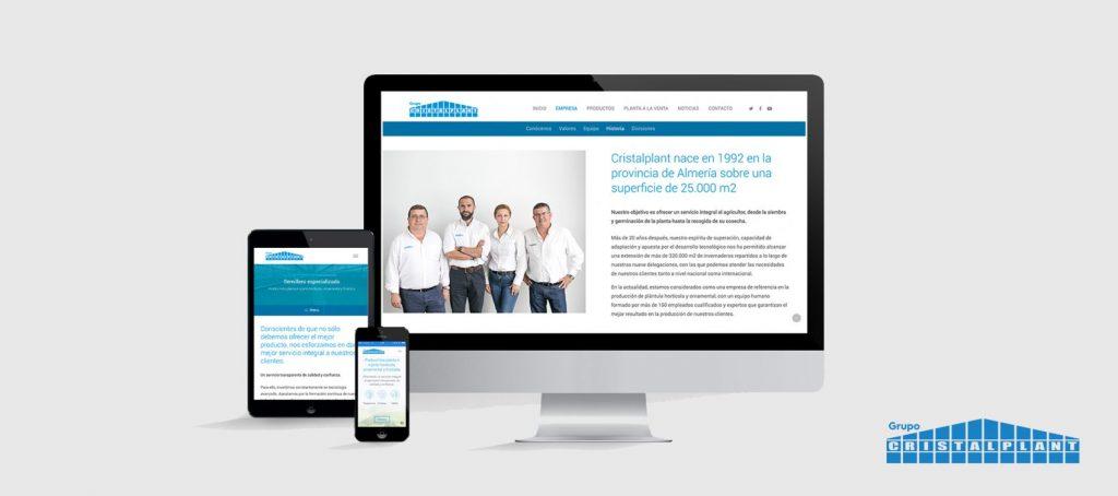 tu primer gran paso - Grupo Cristalplant - nueva web
