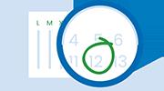 grafismo calendario cristalplant